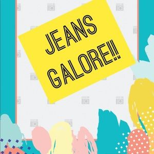 Jeans galore!!!